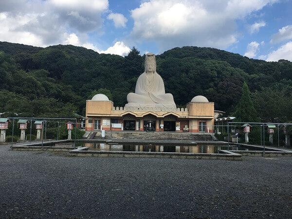 京都霊山観音巨大観音像