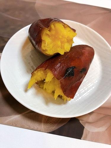 大阪平野の地獄寺、全興寺境内の焼き芋
