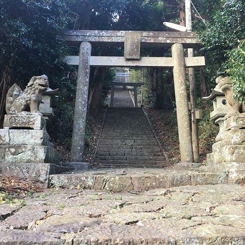 隠岐西ノ島高田神社鳥居